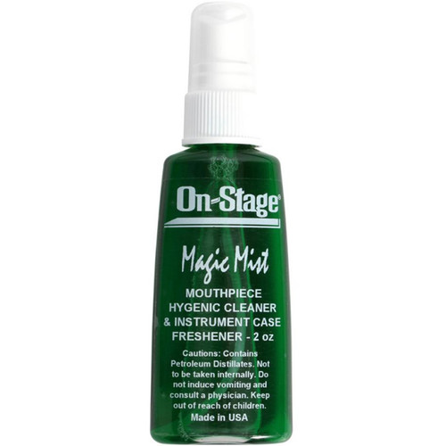 On-Stage Magic Mist Mouthpiece Disinfectant And Case Freshener