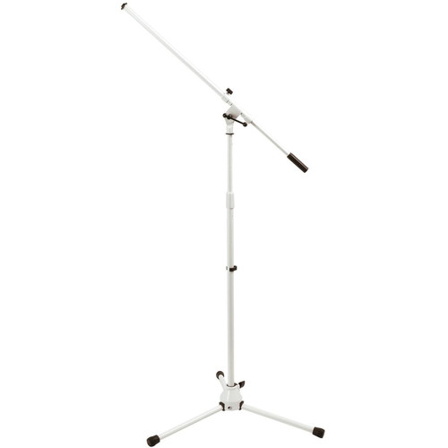 On-Stage MS7801W Euro-Boom Mic Stand (White)