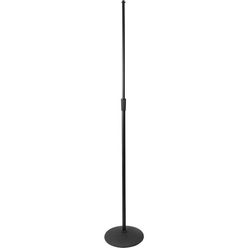 on stage ms9210 heavy duty low profile mic stand ms9210 b h. Black Bedroom Furniture Sets. Home Design Ideas