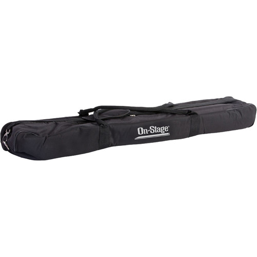 On-Stage Rugged Padded Nylon Bag for Six Tripod Microphone Stands with Booms