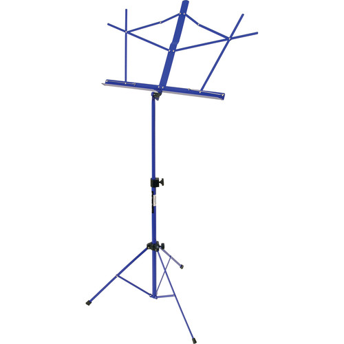On-Stage SM7122DBB Compact Sheet Music Stand (Dark Blue, with Bag)