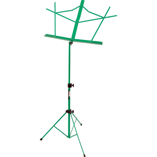 On-Stage SM7122GRB Compact Sheet Music Stand (Green, with Bag)