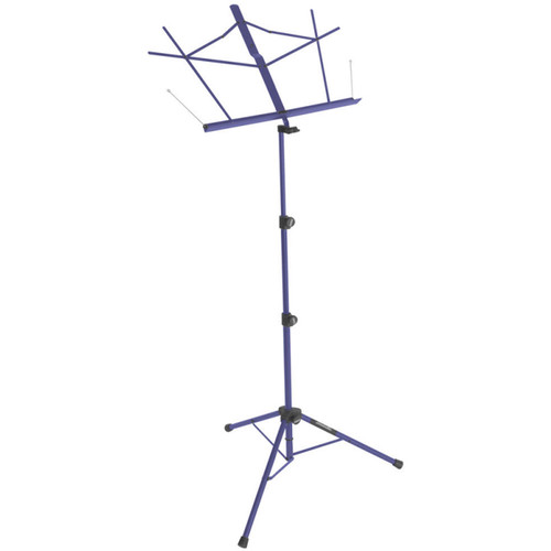 On-Stage Tripod Base Sheet Music Stand (Dark Blue, with Bag)