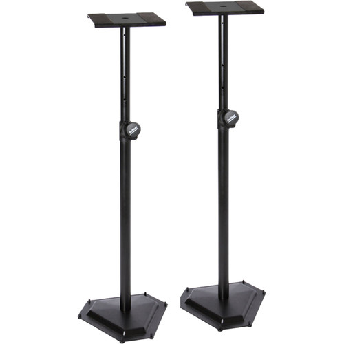 On-Stage SMS6600P Hex-Base Monitor Stands (Pair)