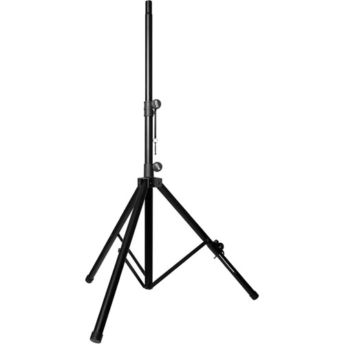 On-Stage SS7762B Speaker Stand with Adjustable Leveling Leg