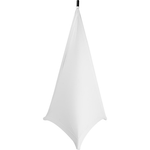 On-Stage SSA100 Speaker/Lighting Stand Skirt (White)