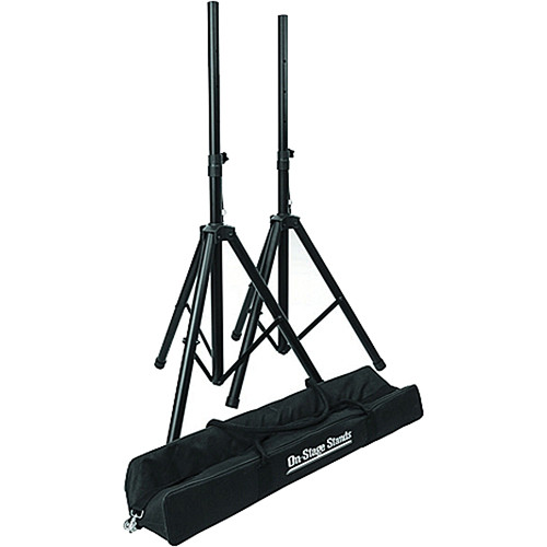 On-Stage Compact Speaker Stand Pak