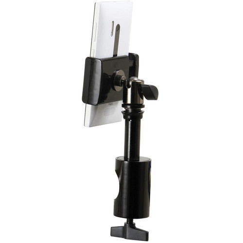 On-Stage Grip-On Universal Device Holder System with Round Clamp