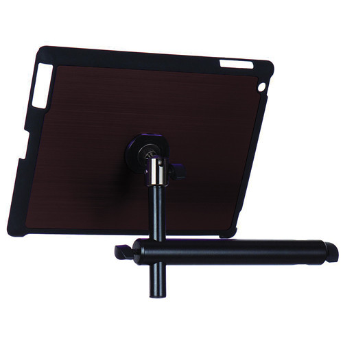 On-Stage Tablet Mounting System with Snap-On Cover for iPad 3/4 (Mauve)