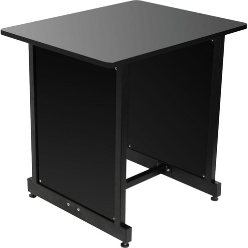 On-Stage WSR7500B Rack Cabinet (Black Wood with Black Steel)