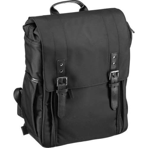 ONA The Nylon Camps Bay Backpack (Black, Nylon/Leather)