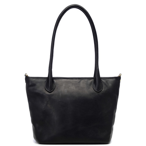 ONA Leather Capri Camera Tote Bag (Black)
