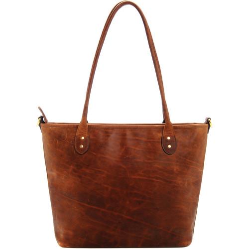 ONA Leather Capri Camera Tote Bag (Antique Cognac)