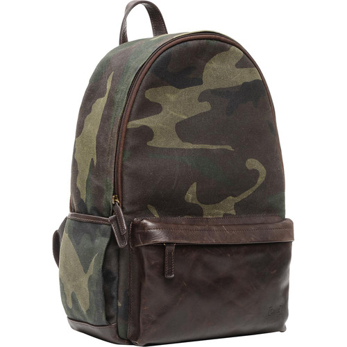ONA The Leather Clifton Camera and Everyday Backpack (Camouflage)