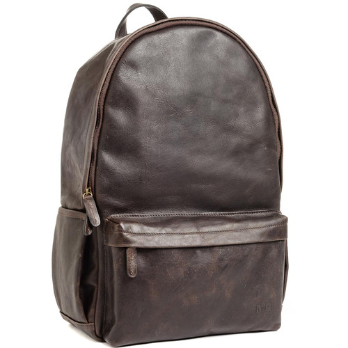 ONA The Leather Clifton Camera and Everyday Backpack (Dark Truffle)