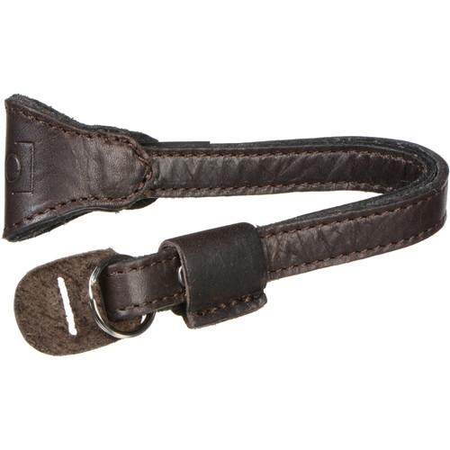 ONA Kyoto Leather Camera Wrist Strap (Dark Truffle)