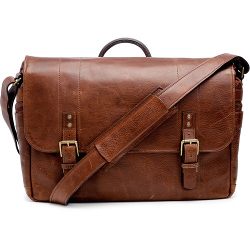 ONA The Union Street Messenger Bag (Walnut, Leather)