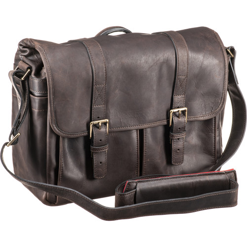 ONA Brixton Camera/Laptop Messenger Bagfor Leica (Leather, Dark Truffle)