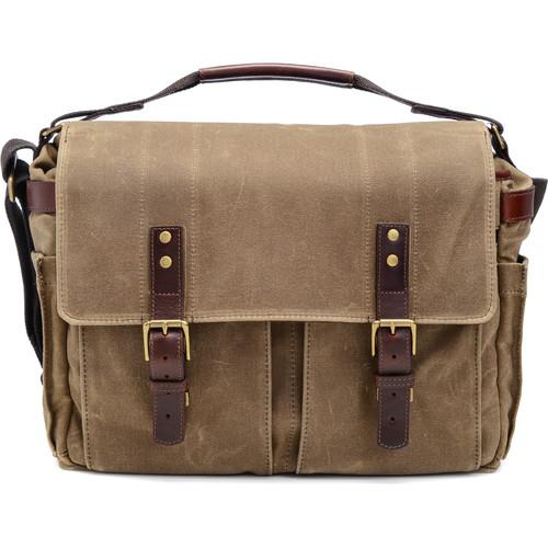 ONA Astoria Camera & Laptop Messenger Bag (FieldTan)