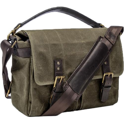 ONA Prince Street Camera Messenger Bag (Olive)