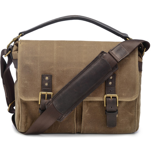 ONA Prince Street Camera Messenger Bag (Field Tan)