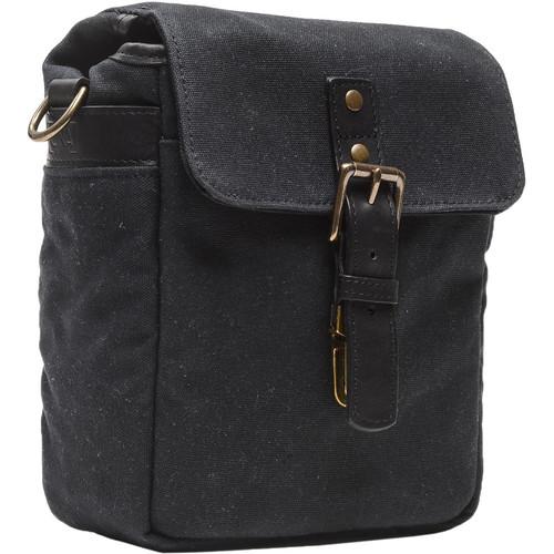 ONA Bond Street Waxed Canvas Camera Bag (Black)