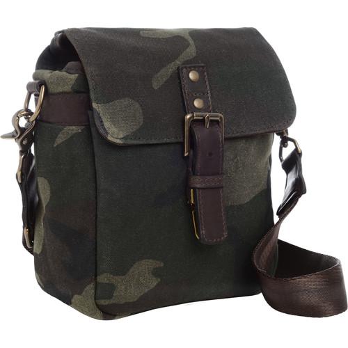 ONA Bond Street Waxed Canvas Camera Bag (Camouflage)