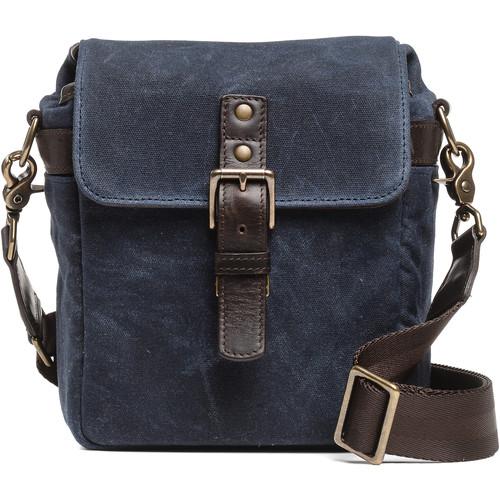 ONA Bond Street Waxed Canvas Camera Bag (Oxford Blue)