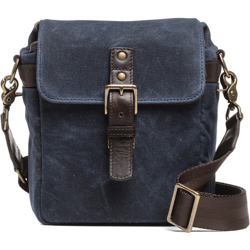 ONA Bond Street Waxed Canvas Camera Bag (Oxford Blue)