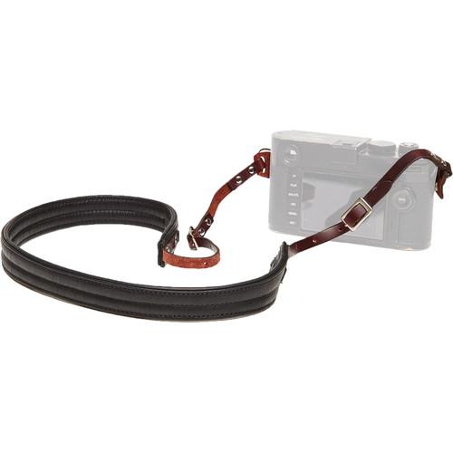 ONA The Oslo Full-Grain Leather Camera Strap (Black)