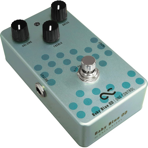 OneControl BJFe Series Baby Blue Overdrive Pedal For Electric Guitars