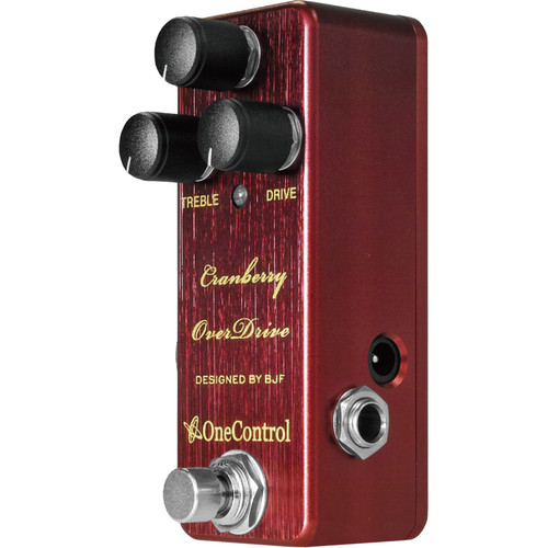 OneControl Cranberry Overdrive Effects Pedal