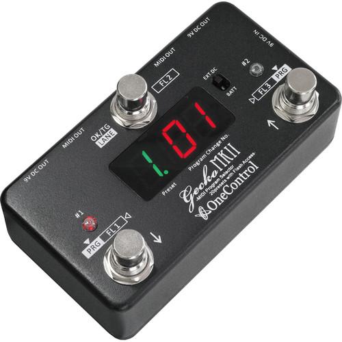 OneControl Gecko MKII MIDI Program Change Foot Controller