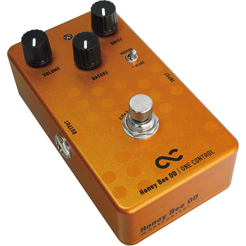 OneControl Honey Bee Overdrive Pedal for Electric Guitars