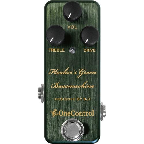 OneControl Hooker's Green Bassmachine Bass Preamp Pedal