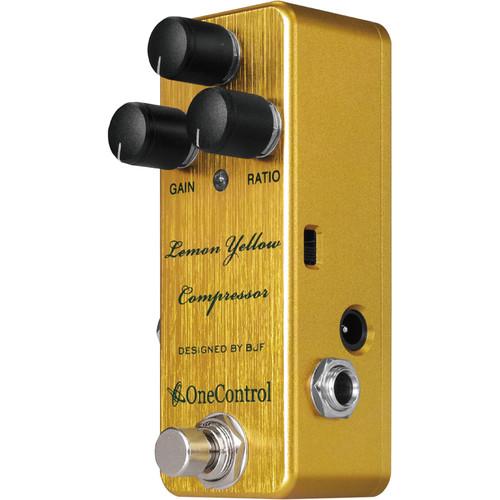 OneControl Lemon Yellow Compressor Pedal