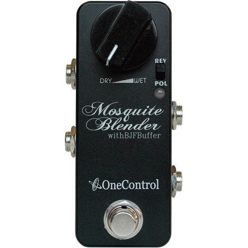 OneControl Mosquite Blender Signal Mixer Pedal with BJF Buffer