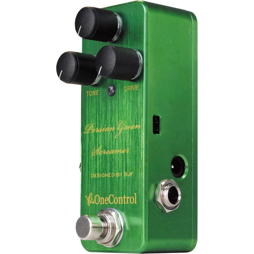 OneControl Persian Green Screamer Overdrive Pedal