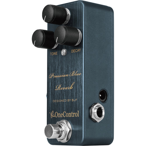 OneControl Prussian Blue Reverb Pedal