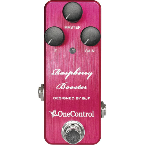 OneControl Raspberry Booster Pedal for Electric Guitar