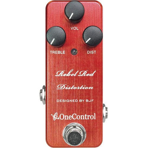 OneControl Rebel Red Distortion Pedal for Electric Guitars