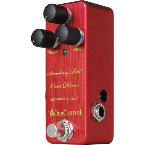 OneControl Strawberry Red Over Drive Pedal