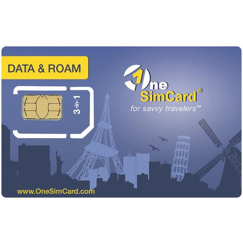 OneSimCard Data & Roam International SIM Card