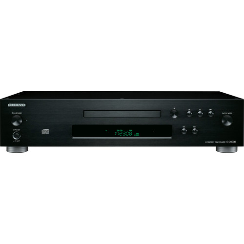 Onkyo C-7000R Audiophile-Grade Compact Disc Player (Black)