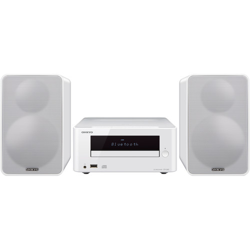 Onkyo CS-265 Colibrino CD Hi-Fi Bluetooth Mini System (White)