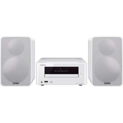 Onkyo CS-265 Colibrino CD Hi-Fi Bluetooth Mini System (White)