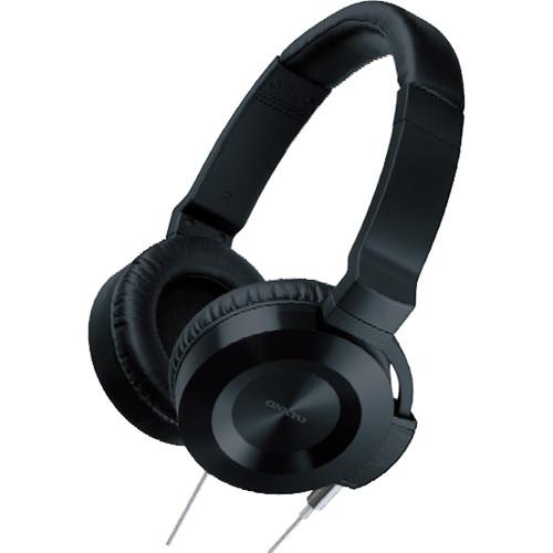 Onkyo ES-HF300 Headphones (Black with Silver Cable)