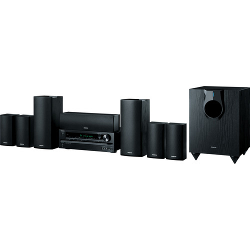 Onkyo HT-S5600 7.1-Channel Home Theater Receiver and Speaker Package
