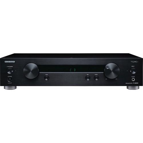 Onkyo P-3000R 2-Channel Hi-Fi Pre-Amplifier (Black)