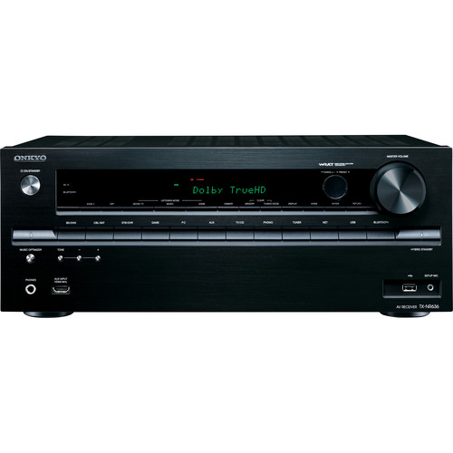 Onkyo TX-NR636 7.2-Channel Network AV Receiver